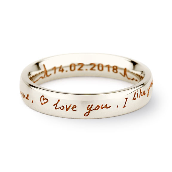 Valentine's Collection Words of Love Ring